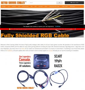 Retro Gaming Cables